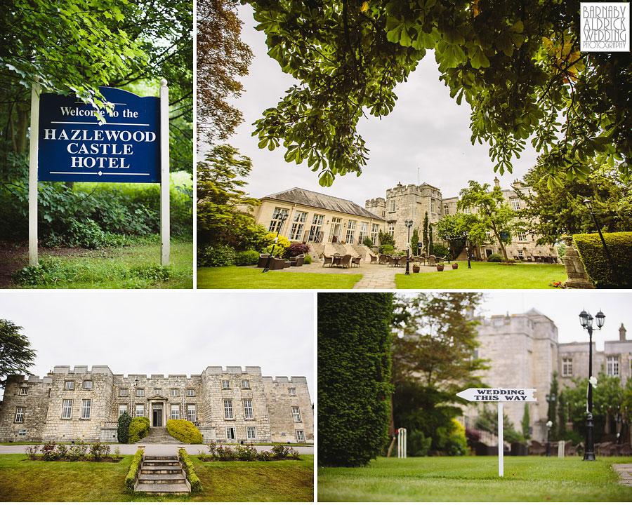 Hazlewood Castle Tadcaster Wedding Photography 019