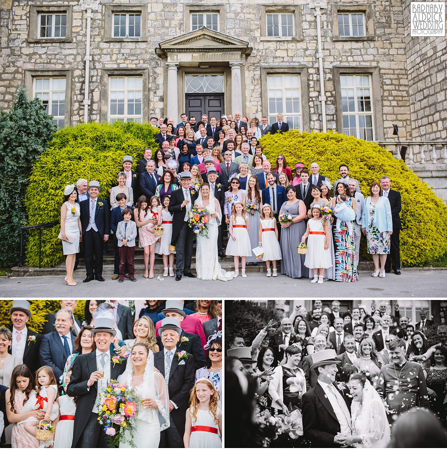 Hazlewood Castle Tadcaster Wedding Photography 032