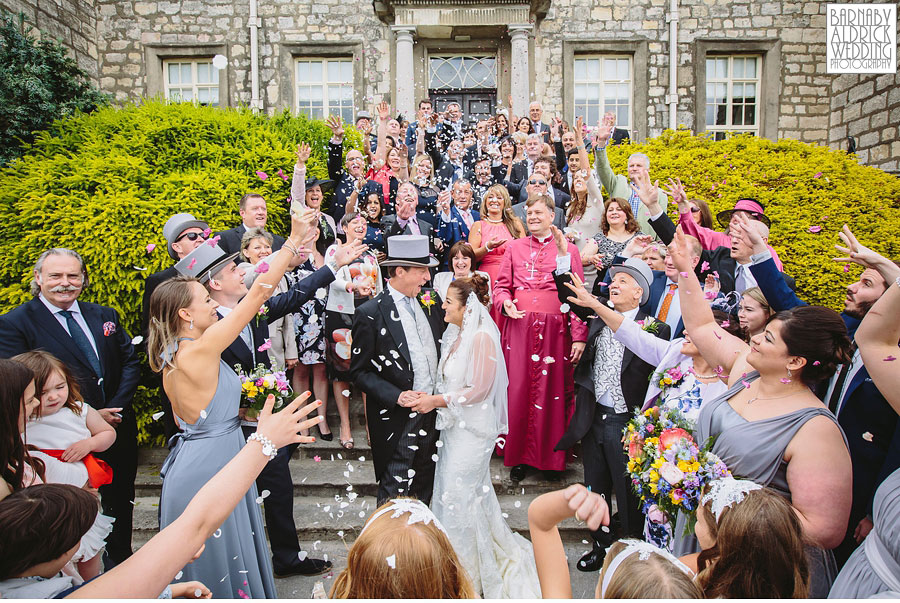 Hazl ewood Castle Tadcaster Wedding Photography 033