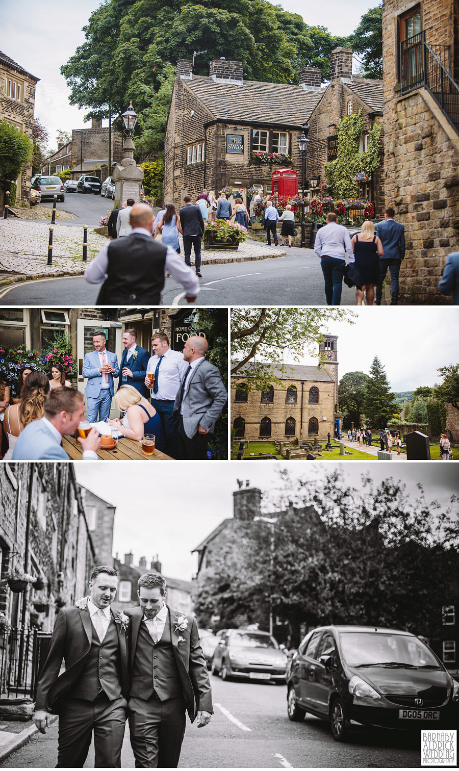 Crow Hill Marsden Wedding Photography