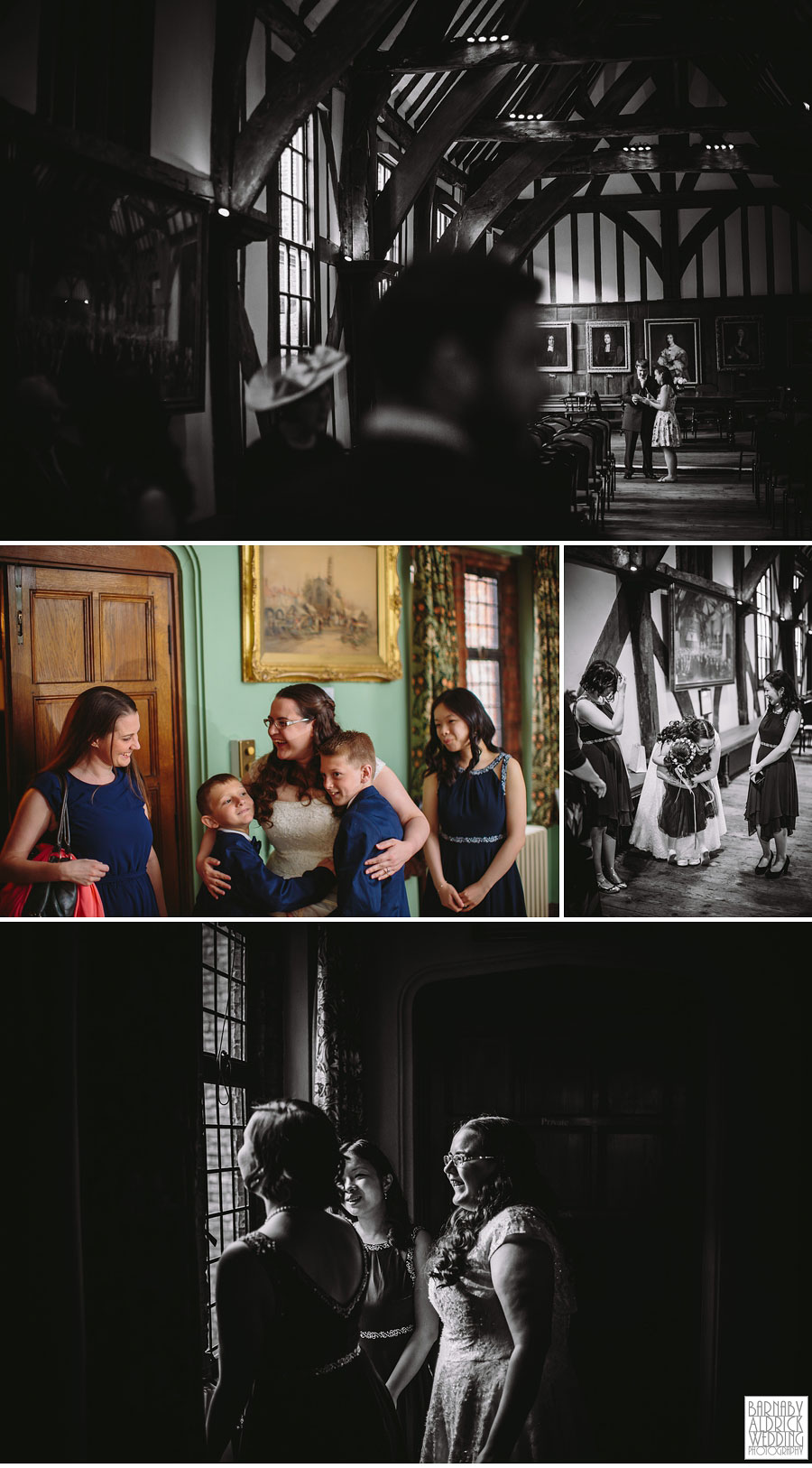 Merchant Adventurer's Hall York Wedding Photography 007