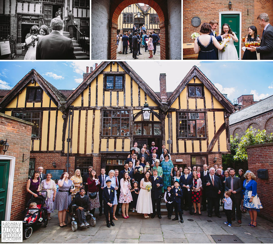 Merchant Adventurer's Hall York Wedding Photography 018