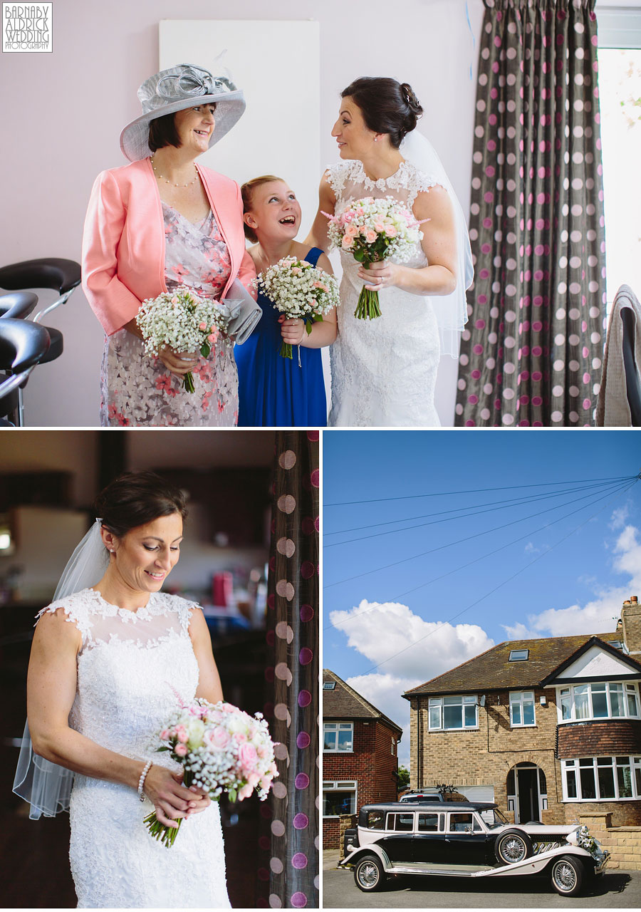Bradford Golf Course Wedding Photography by Leeds Photographer Barnaby Aldrick 012