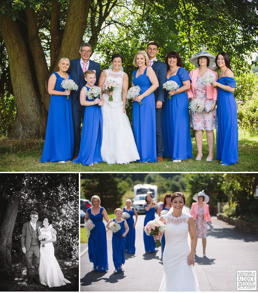 Bradford Golf Course Wedding Photography by Leeds Photographer Barnaby Aldrick 013