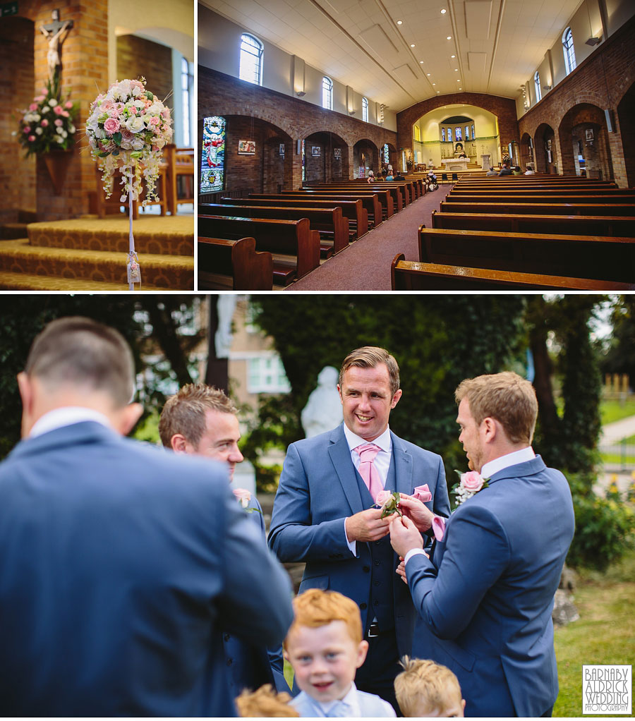Bradford Golf Course Wedding Photography by Leeds Photographer Barnaby Aldrick 015