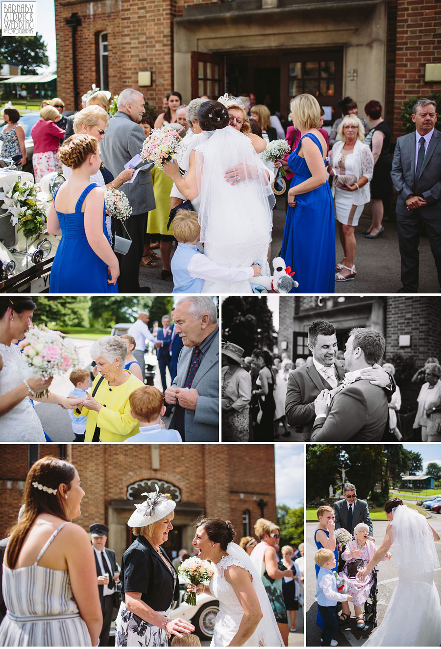 Bradford Golf Course Wedding Photography by Leeds Photographer Barnaby Aldrick 032