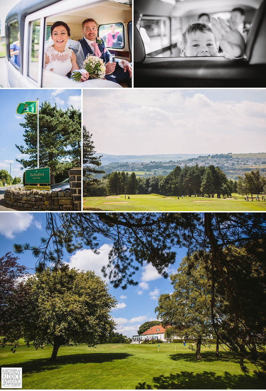 Bradford Golf Course Wedding Photography by Leeds Photographer Barnaby Aldrick 039