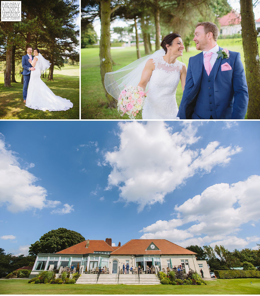 Bradford Golf Course Wedding Photography by Leeds Photographer Barnaby Aldrick 042