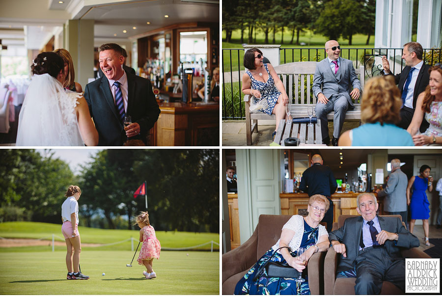Bradford Golf Course Wedding Photography by Leeds Photographer Barnaby Aldrick 044