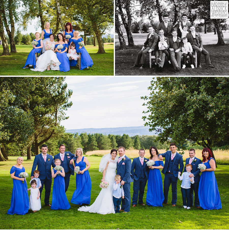 Bradford Golf Course Wedding Photography by Leeds Photographer Barnaby Aldrick 046