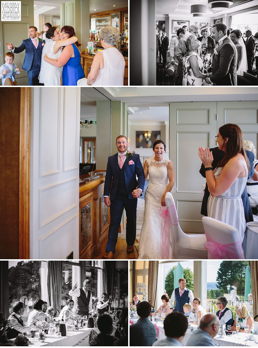 Bradford Golf Course Wedding Photography by Leeds Photographer Barnaby Aldrick 049