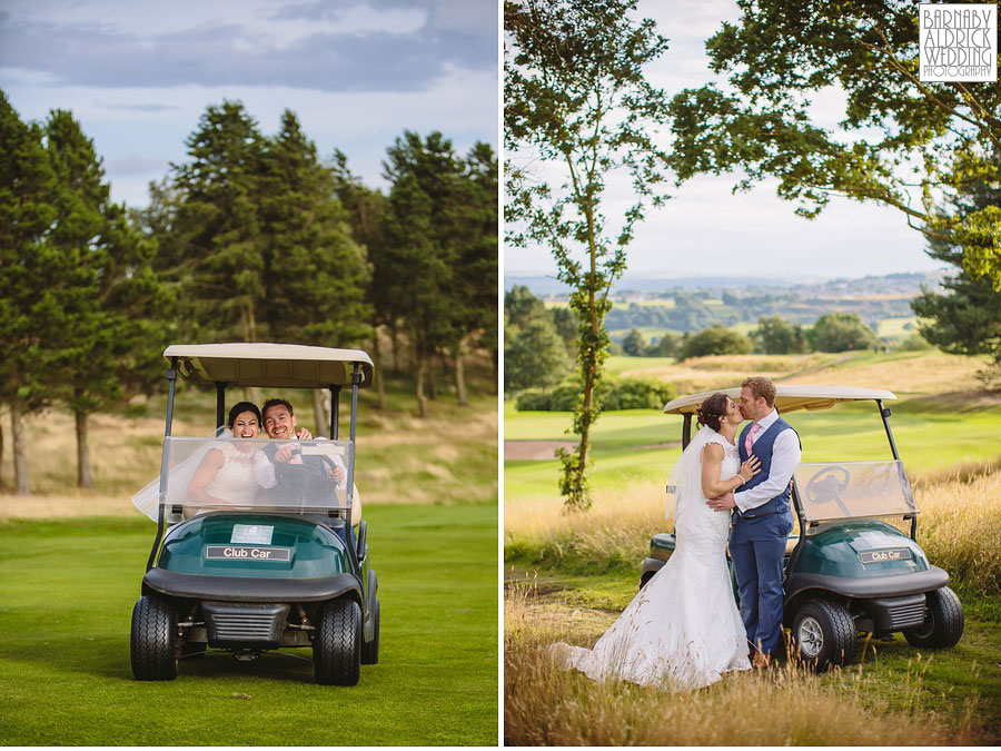 Bradford Golf Course Wedding Photography by Leeds Photographer Barnaby Aldrick 052