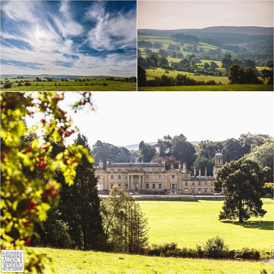 Broughton Hall Skipton Yorkshire Wedding Photography 002