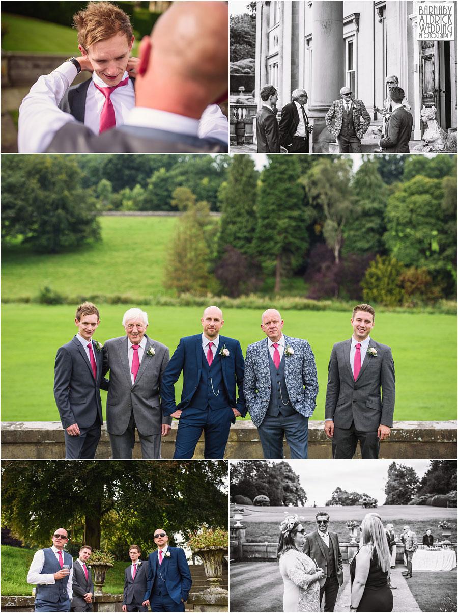 Broughton Hall Skipton Yorkshire Wedding Photography 020