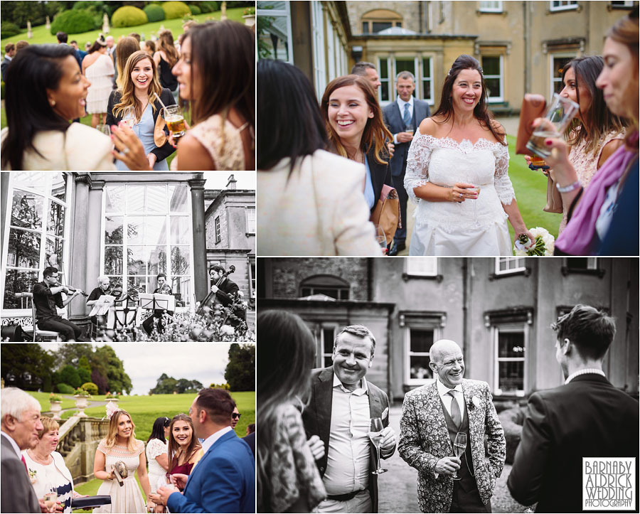Broughton Hall Skipton Yorkshire Wedding Photography 048