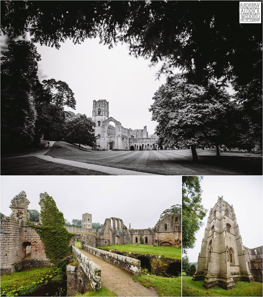 Fountains Abbey Ripon Wedding Photography 004