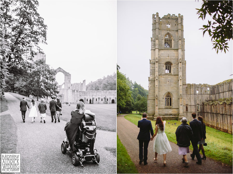 Fountains Abbey Ripon Wedding Photography 046