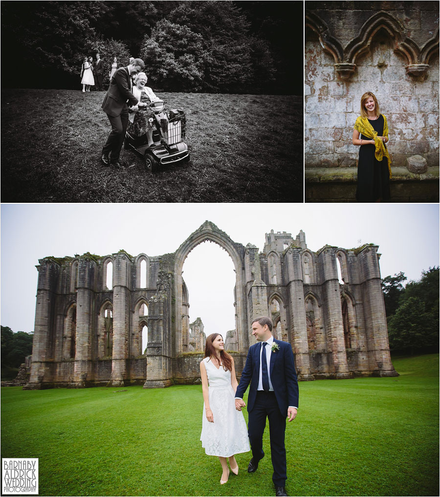 Fountains Abbey Ripon Wedding Photography 047