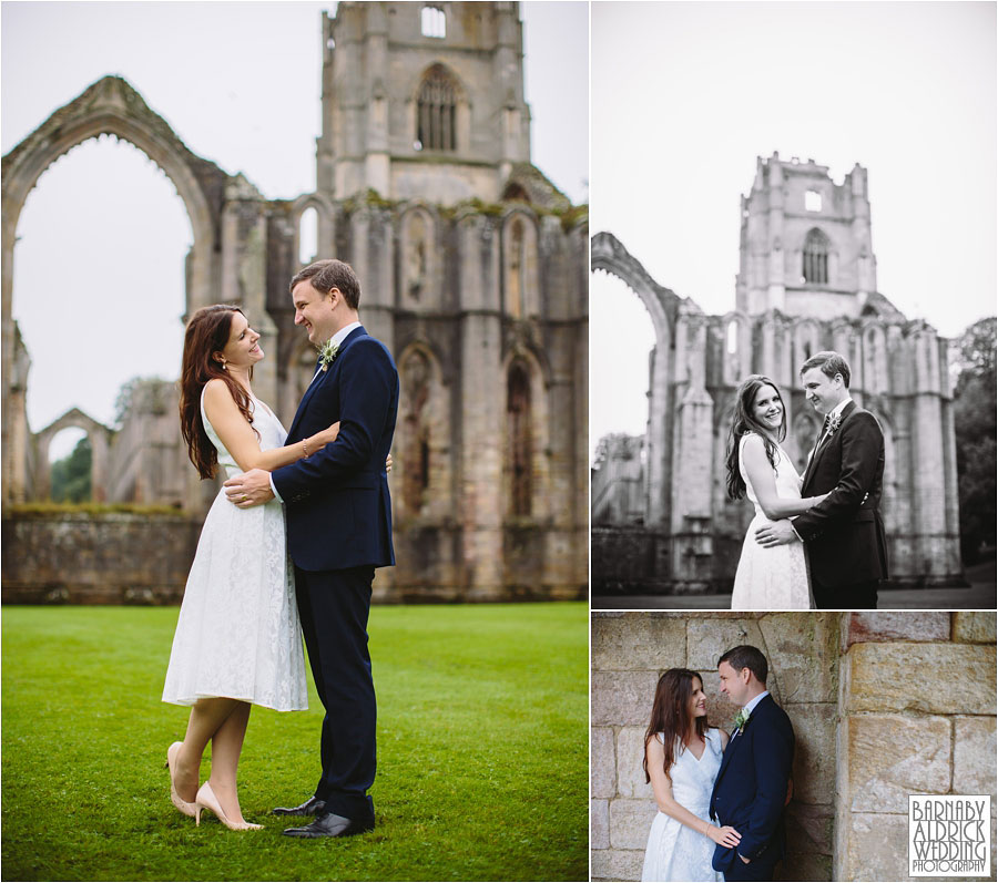 Fountains Abbey Ripon Wedding Photography 048