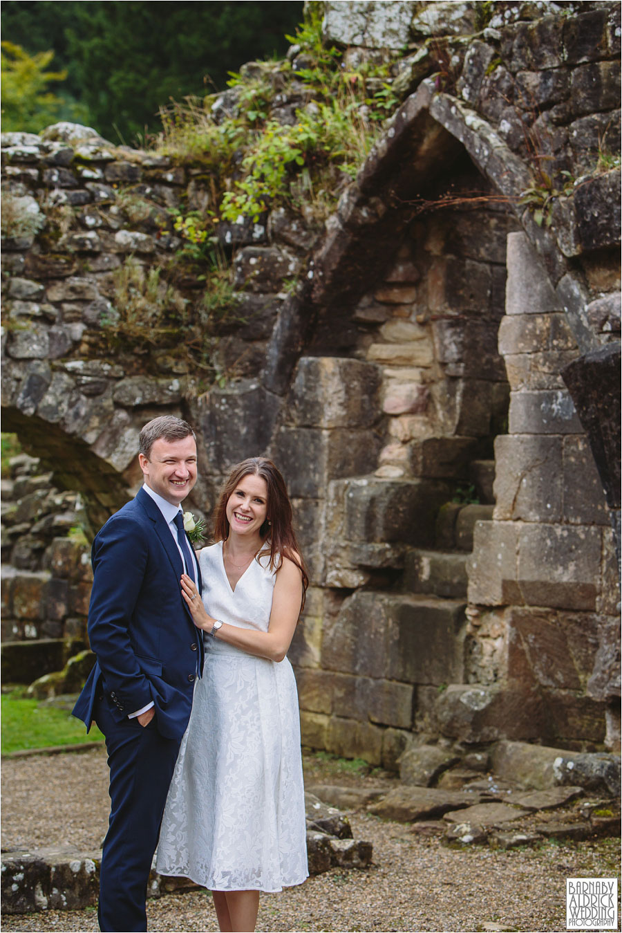 Fountains Abbey Ripon Wedding Photography 049