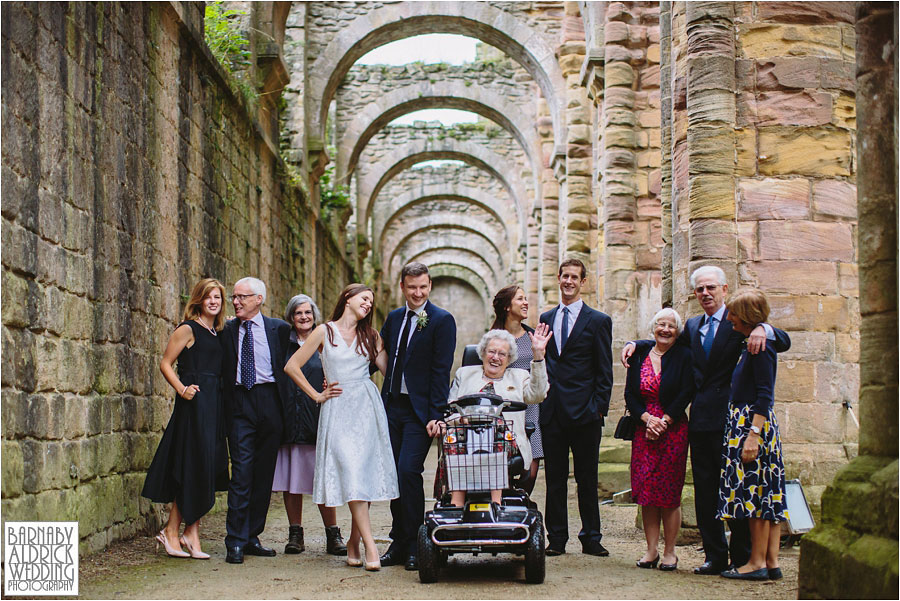 Fountains Abbey Ripon Wedding Photography 052