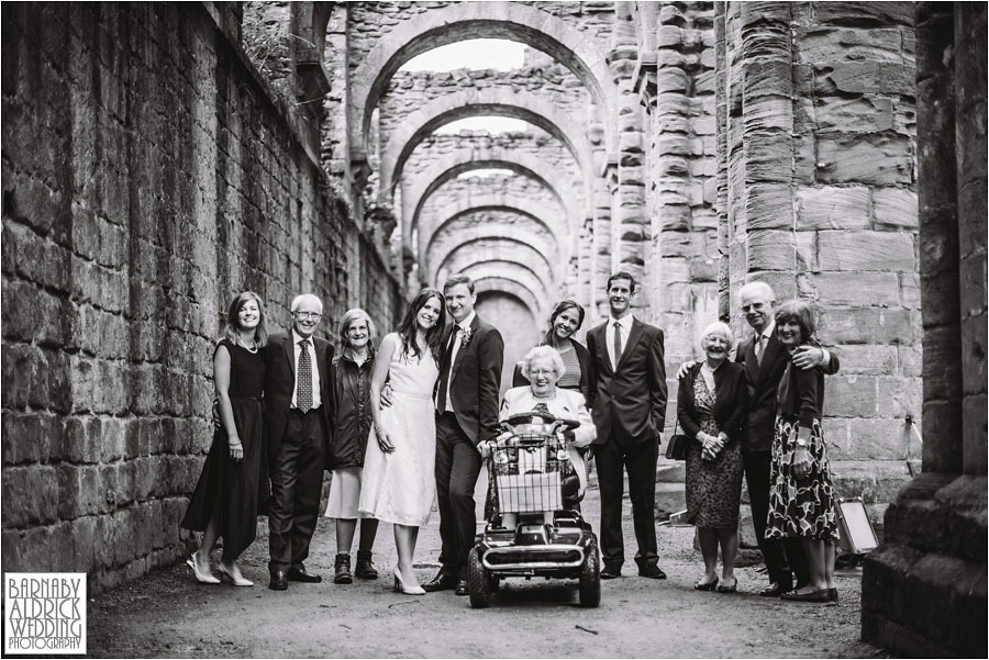 Fountains Abbey Ripon Wedding Photography 053