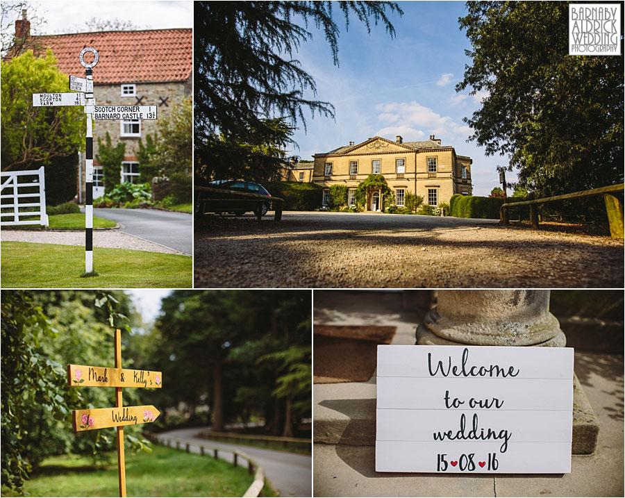 Middleton Lodge Wedding Photography 002