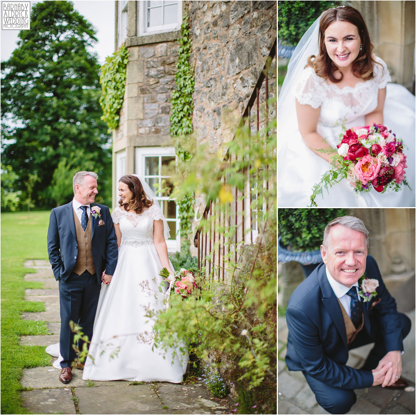 Summer wedding photography at the Inn at Whitewell; Clitheroe Wedding Photographer Lancashire; Lancashire Wedding photography; Barnaby Aldrick Wedding Photography