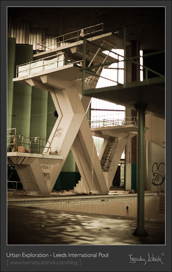Leeds International Swimming Pool Leeds Urbex Photography By Barnaby Aldrick