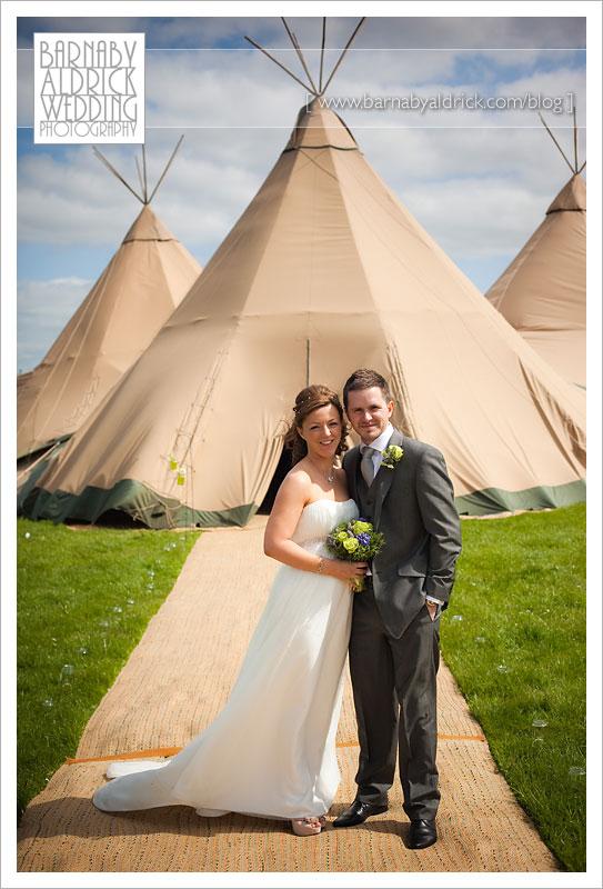 Papakata Tipi tent wedding photographer
