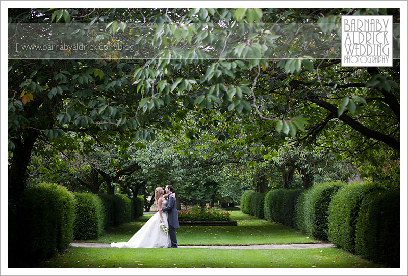 Hazlewood Castle Wedding Photo