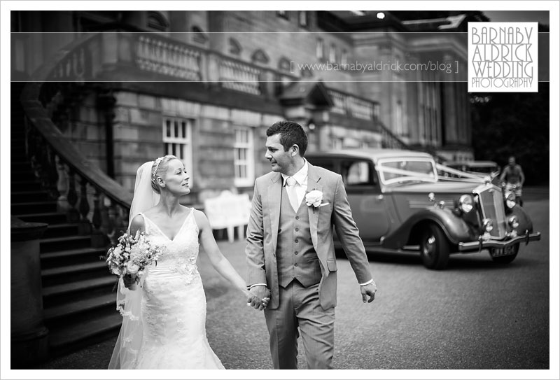Wedding Photography at Nostell Priory in Yorkshire