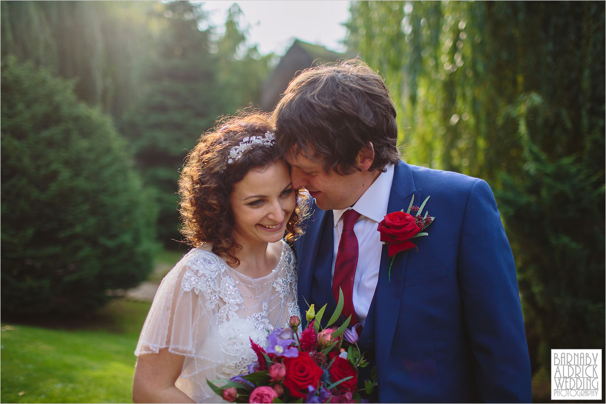 A wedding photography portrait at The Crab and Lobster boutique wedding venue in Yorkshire