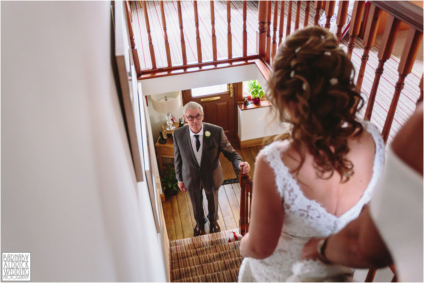 Father and Daughter Wedding day photograph