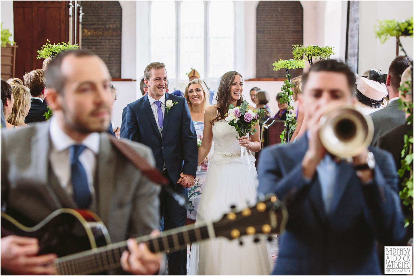 Norfolk garden village wedding