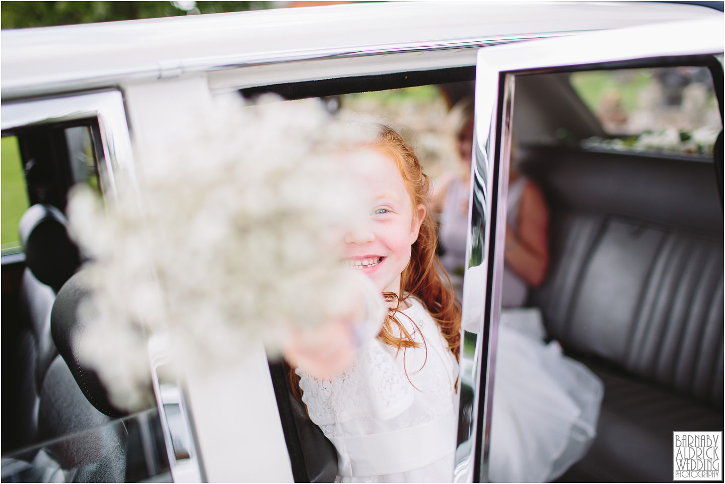 Flower Girl wedding photograph