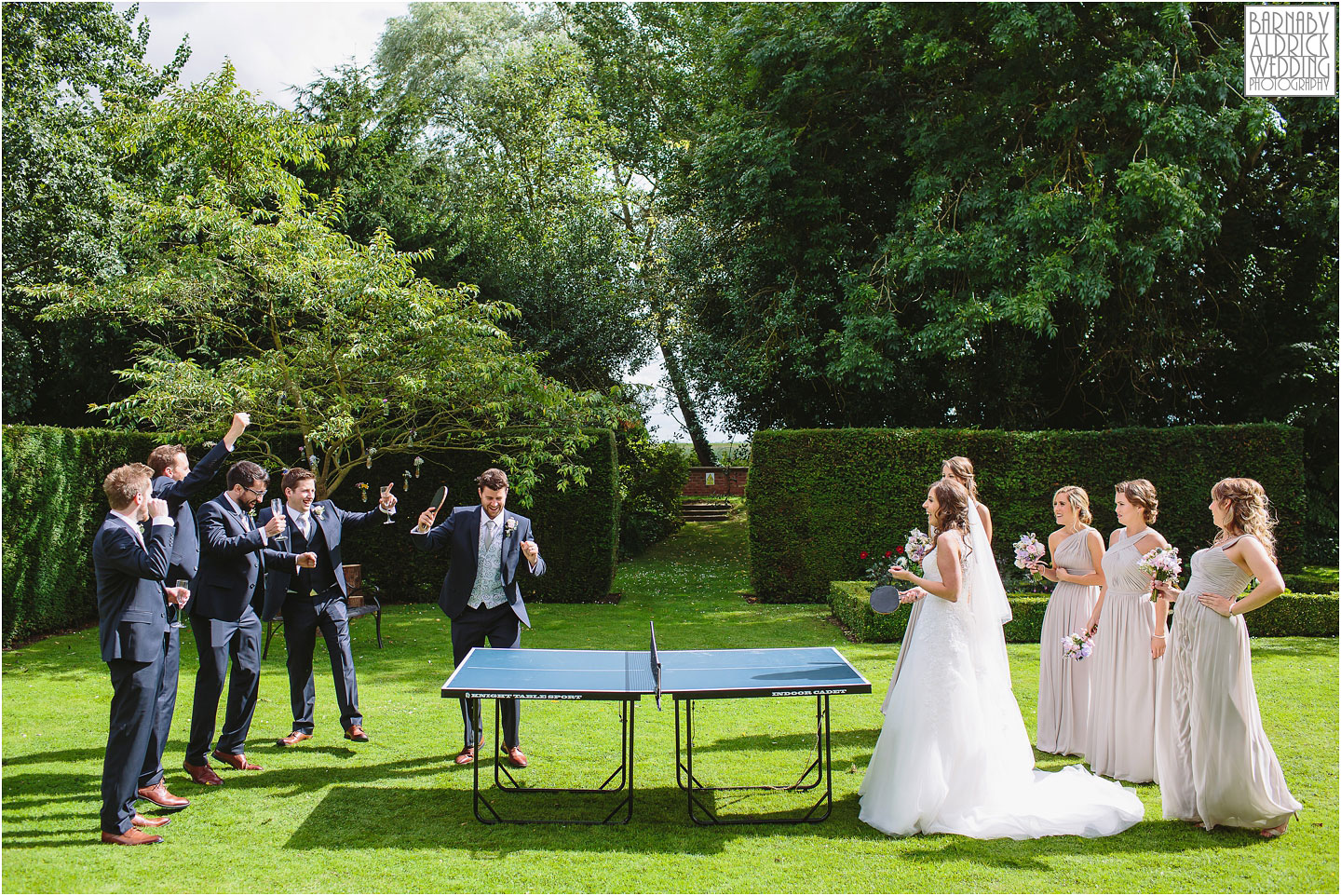 Wedding Table Tennis
