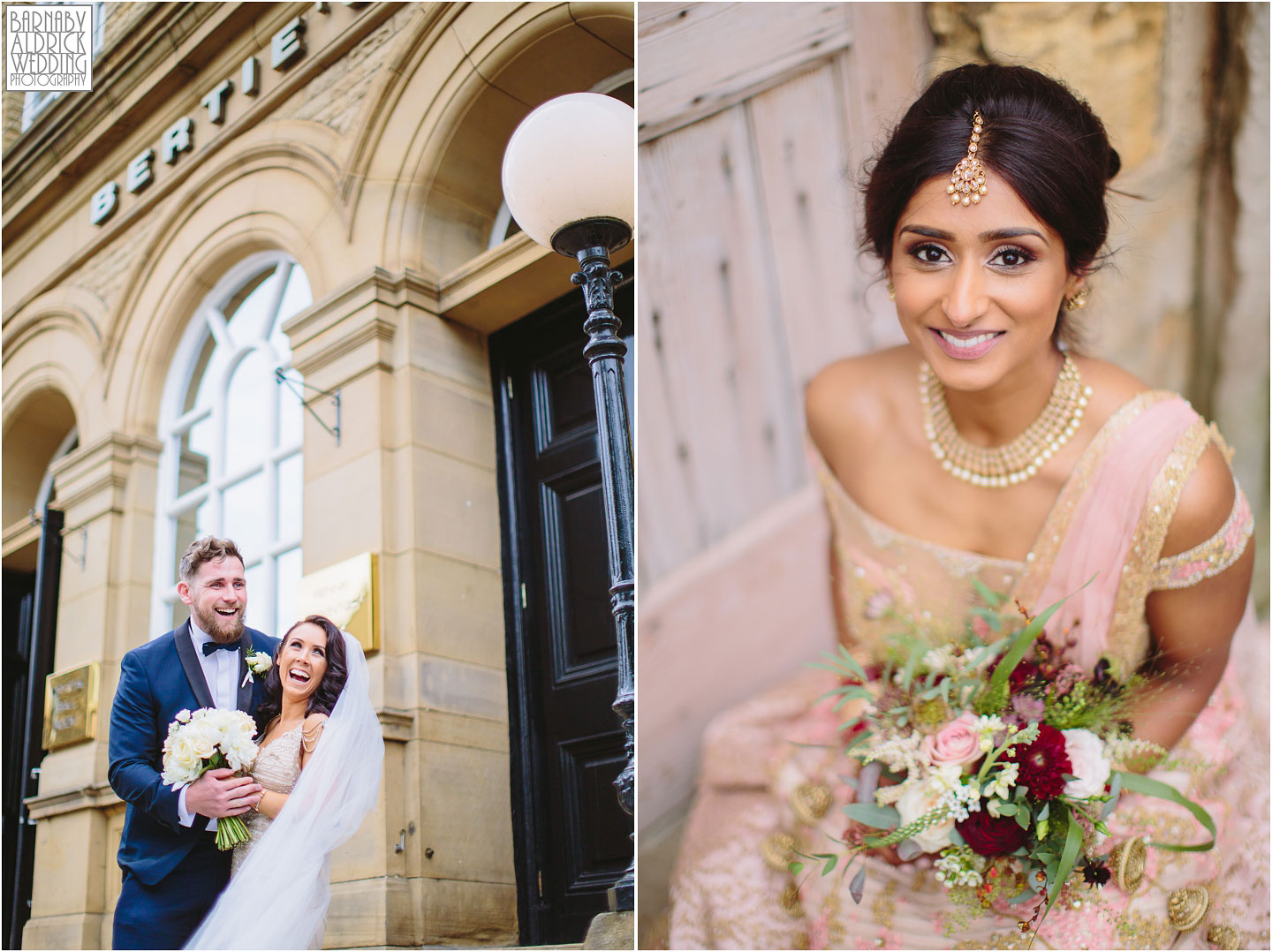 Wedding photography Berties Elland Yorkshire