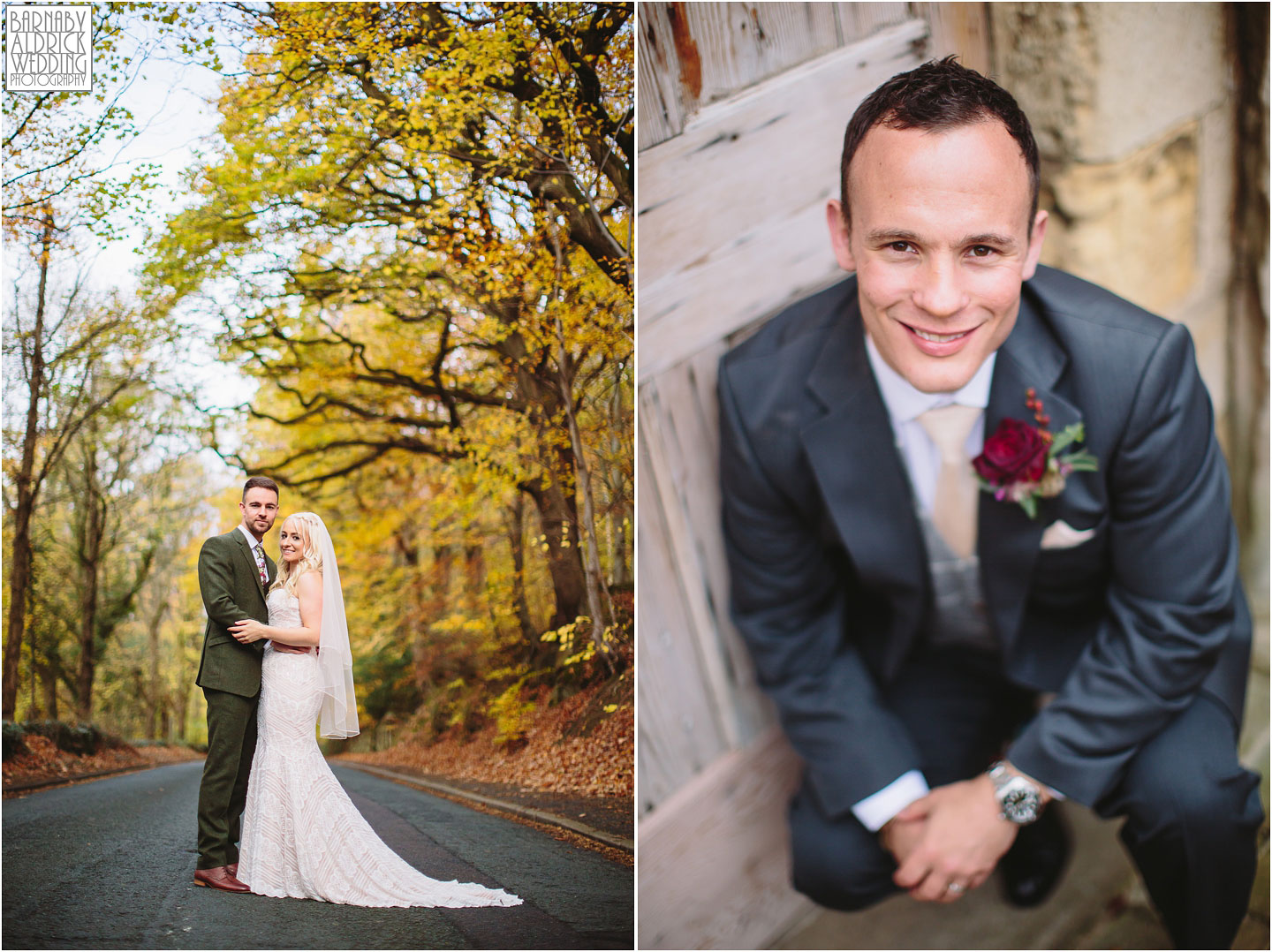Wedding photography at The Woodman Inn, Yorkshire Wedding Photographer