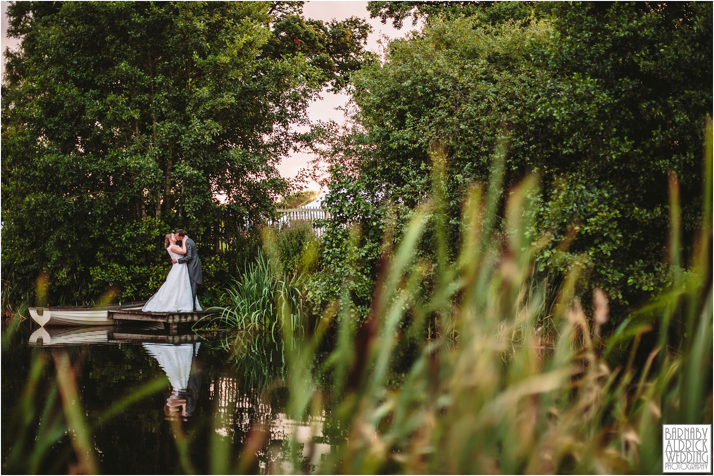 Alderford Lake Shropshire Wedding photography