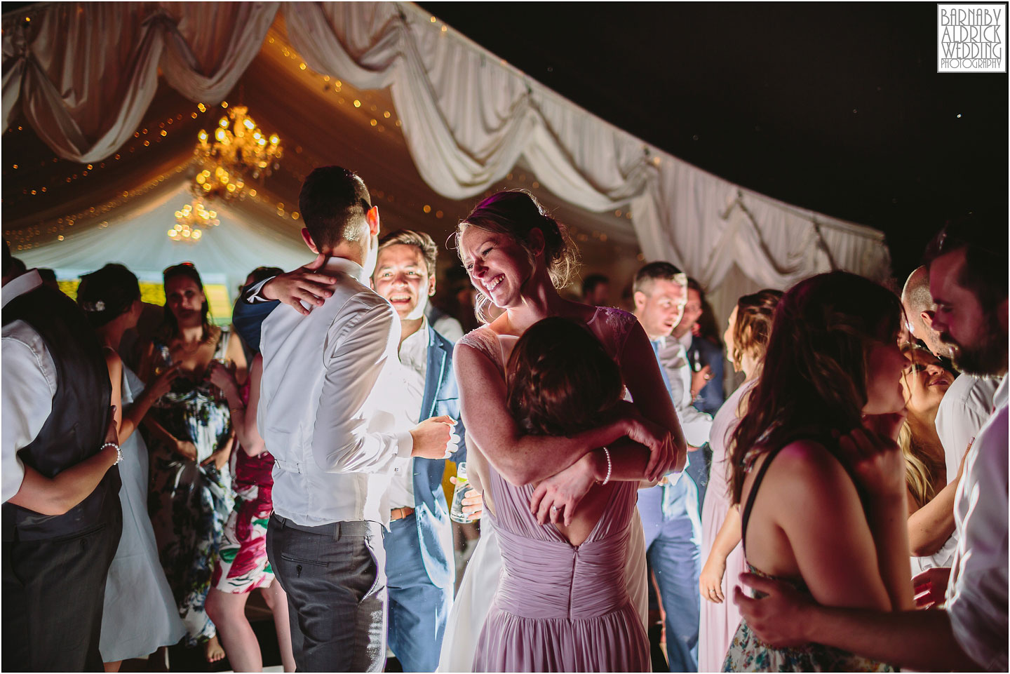 First Dance wedding photography, Priory Cottages Yorkshire