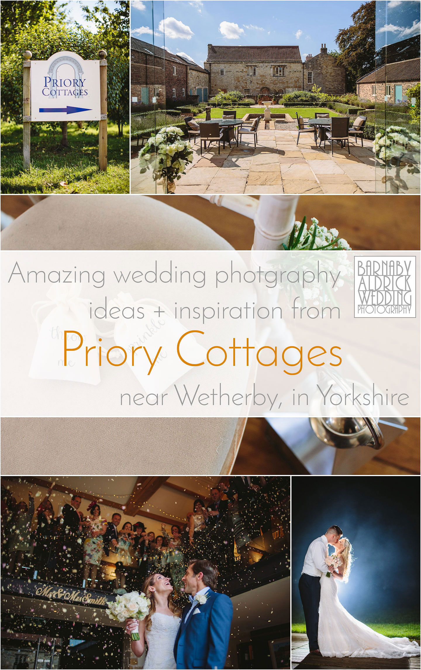 Wedding Photography ideas and inspiration at Priory Cottages between Wetherby Tadcaster Harrogate and Leeds