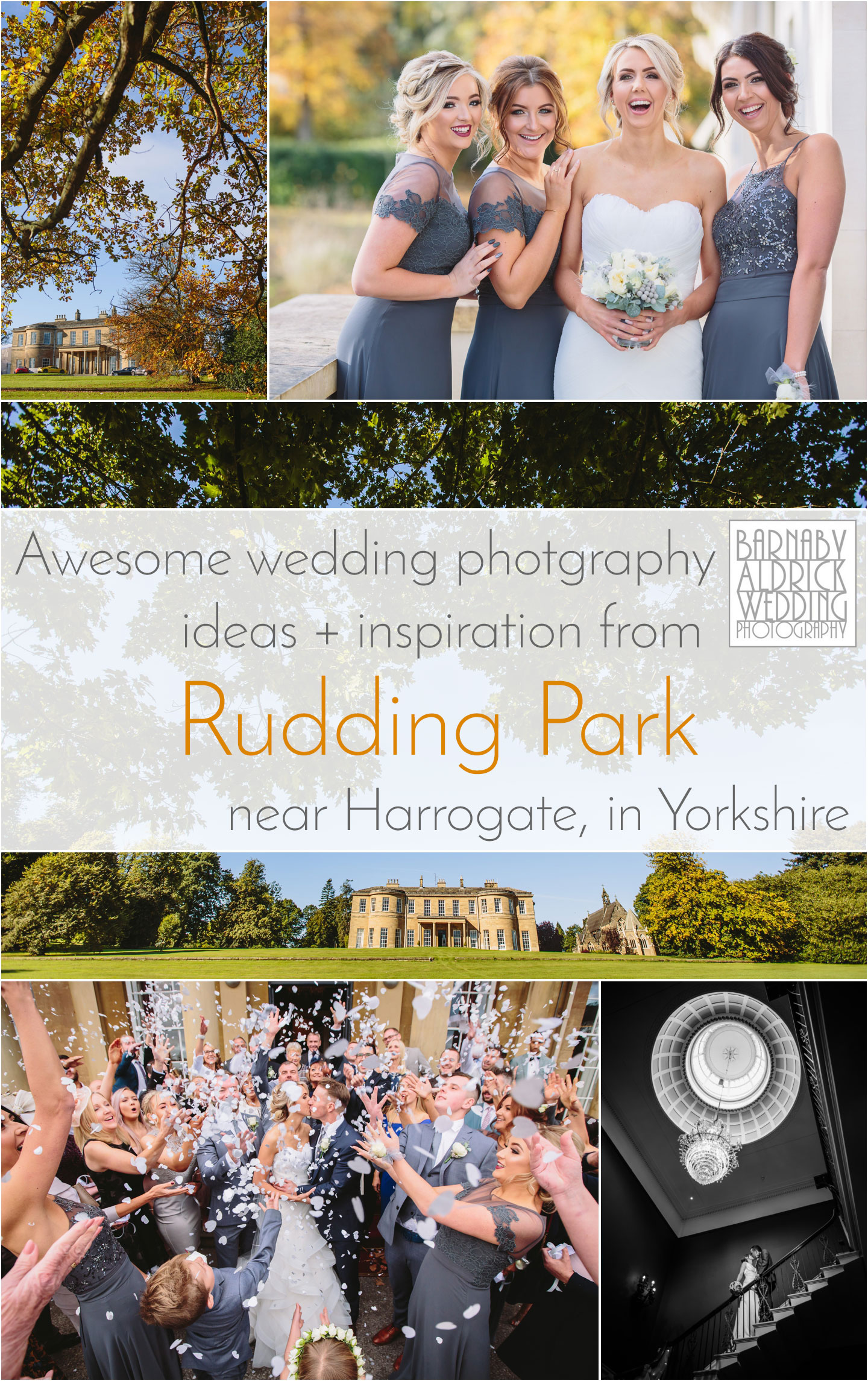 Wedding Photos ideas and inspiration from Rudding Park near Harrogate in North Yorkshire
