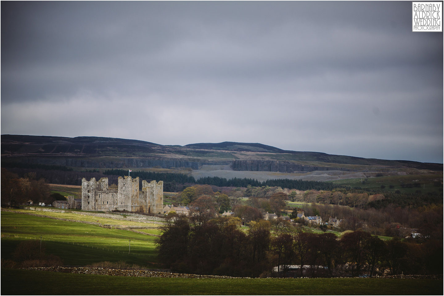 Castle Bolton, Yorkshire Dales Wedding Venue, Best wedding venues in Yorkshire