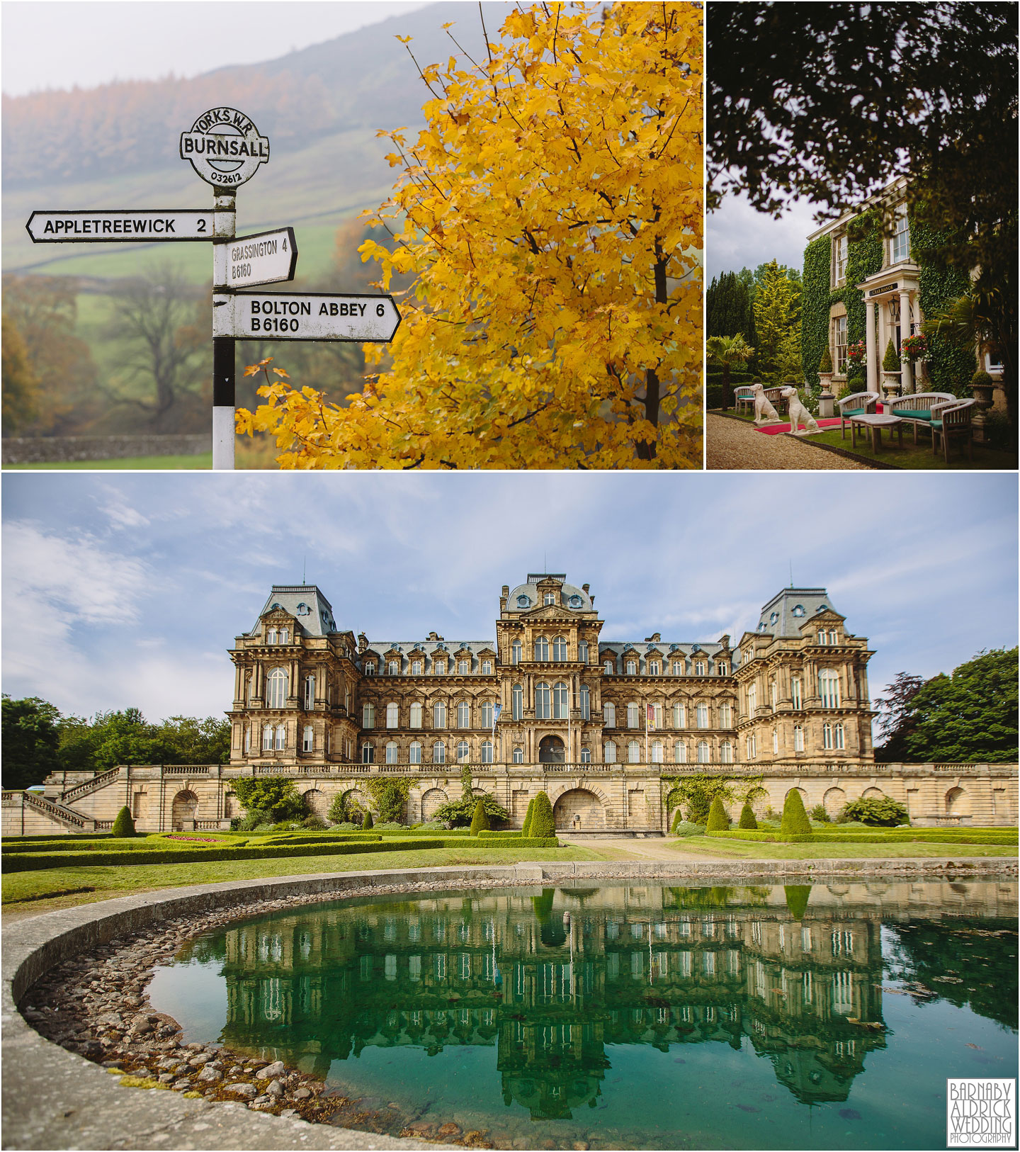 The stunning Bowes Museum makes for an alternative wedding venue as an art gallery in a french style chateaux in North Yorkshire