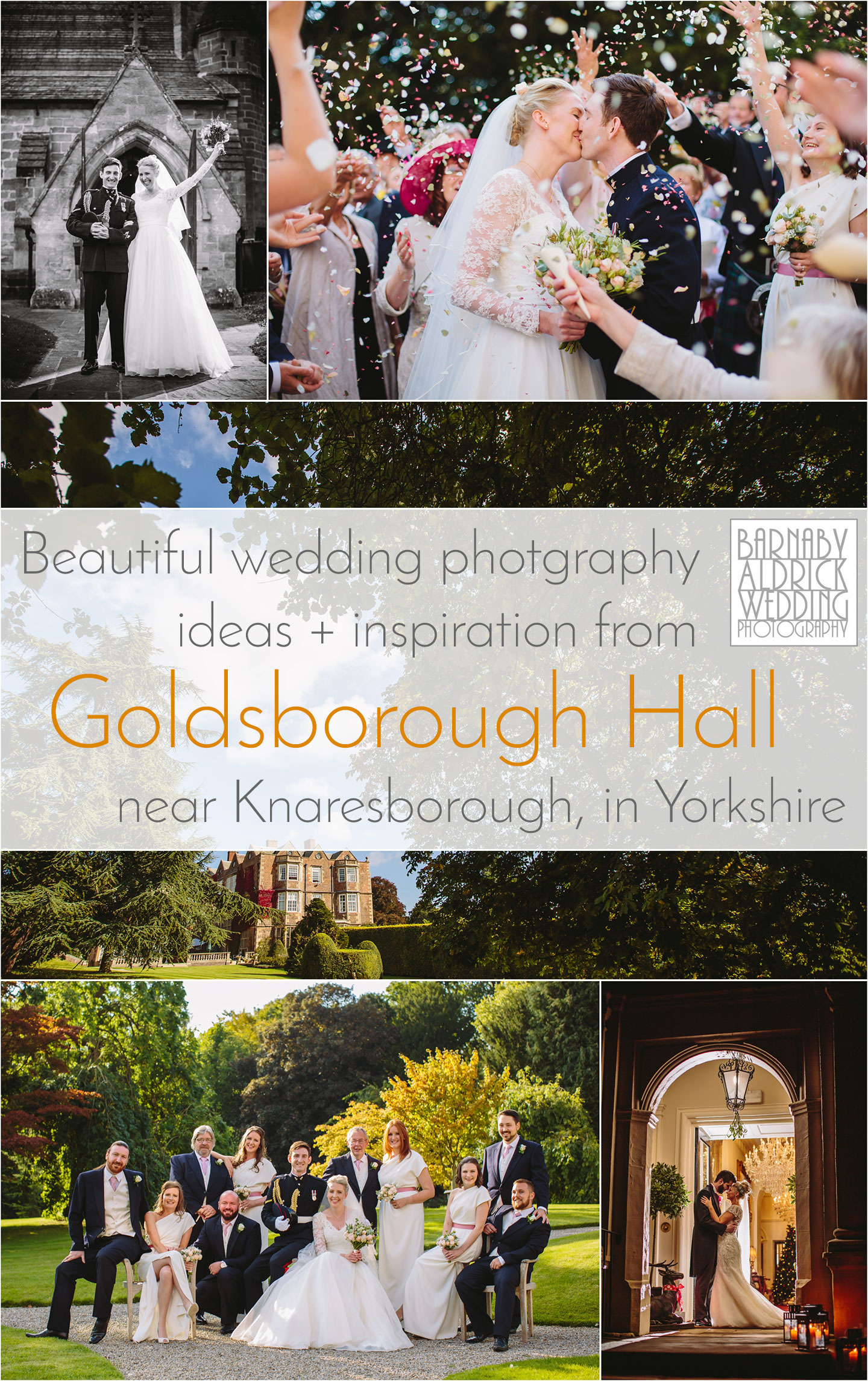 Wedding Photos ideas and inspiration from Goldsborough Hall Knaresborough by a Yorkshire photographer