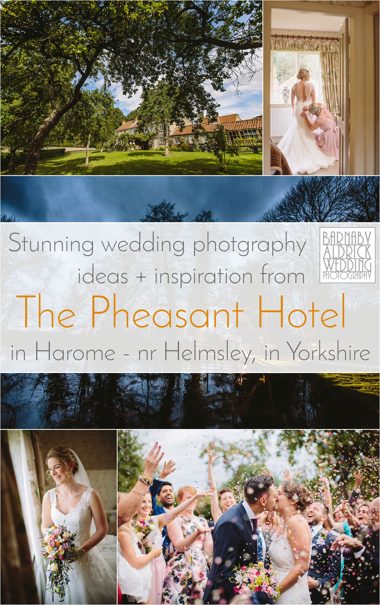 Wedding Photos ideas and inspiration from The Pheasant Hotel and Gastro Pub in Harome near Helsmley in North Yorkshire