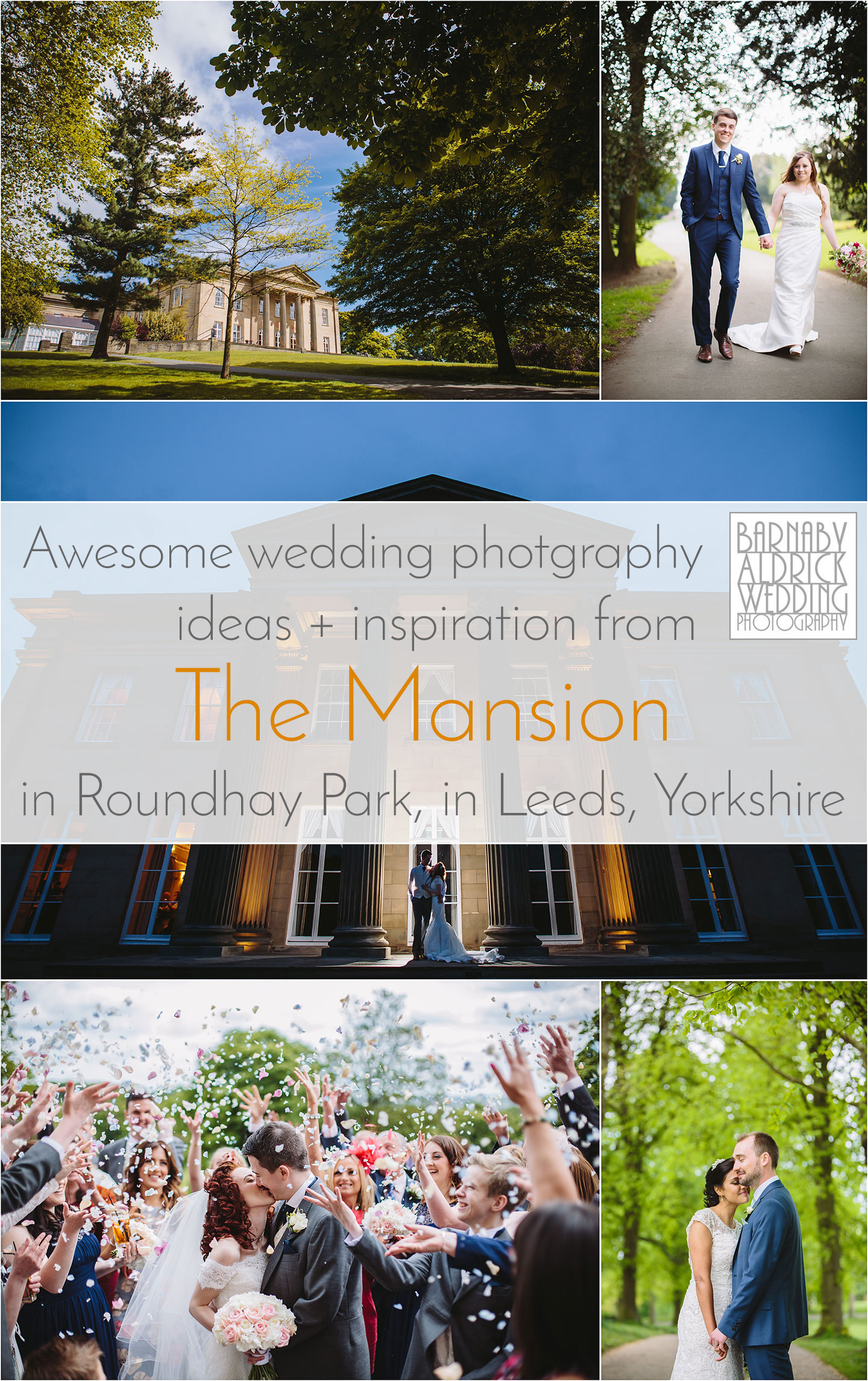 Wedding Photos from The Mansion in Roundhay Park in Leeds by a Yorkshire photographer