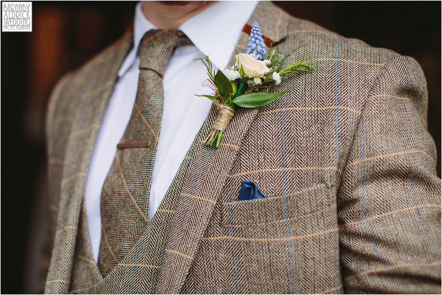 Tweed Wedding Suit, perfect Yorkshire gents wedding attire