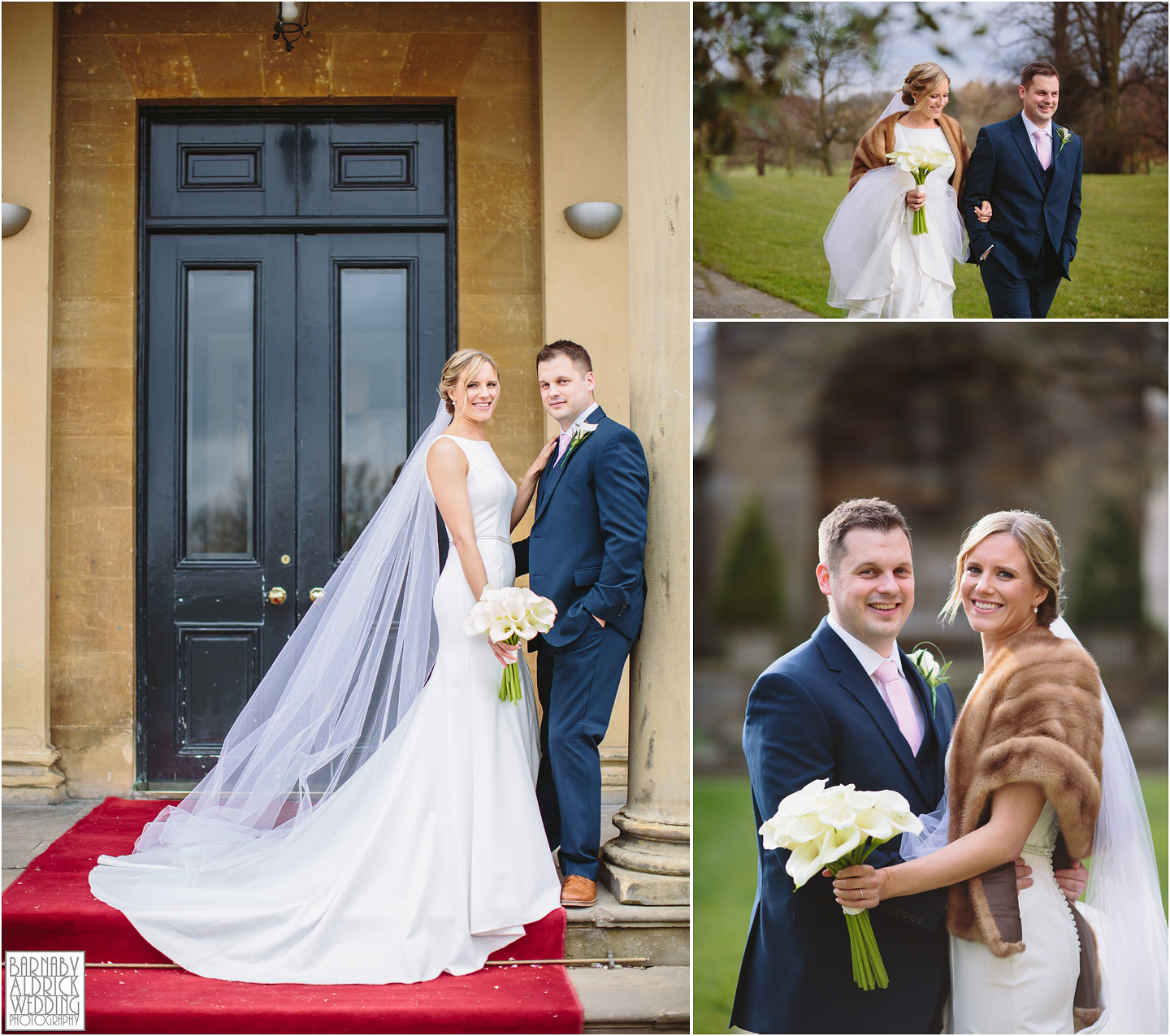 Yorkshire Photographer Barnaby Aldrick, Rudding Park Harrogate Wedding Photos, Spring Yorkshire Wedding Photos